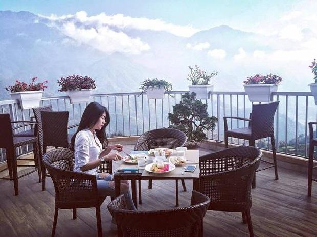 Ăn sáng tại khách sạn Sapa