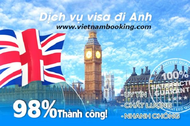 Dịch vụ làm visa đi Anh trọn gói