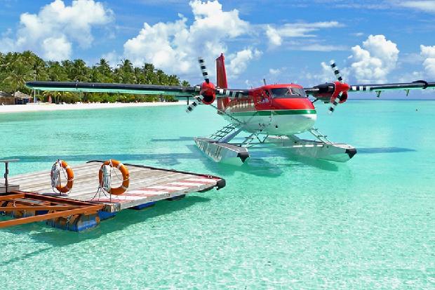 Thủy phi cơ ở Maldives