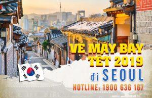 Giá vé máy bay Tết 2019 đi Seoul mới nhất