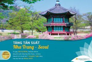 Vietnam Airlines tăng tần suất đường bay Nha Trang – Seoul