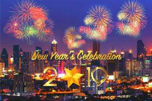 Vòng quanh thế giới ngắm pháo hoa mừng năm mới hoành tráng