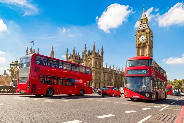 Xe buýt 2 tầng ở London