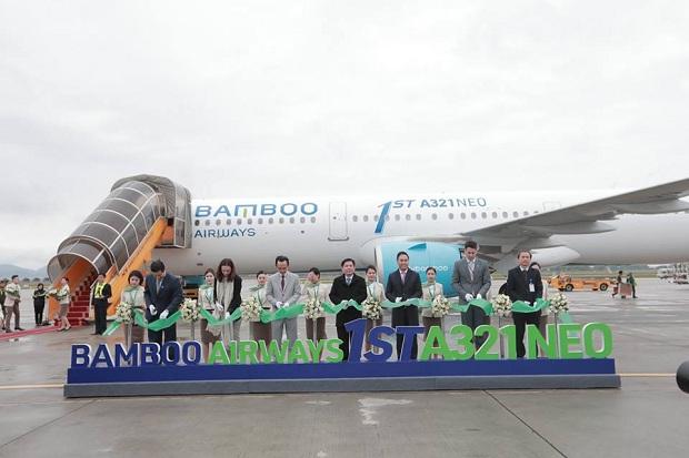 Tàu bay hiện đại A321NEO của hãng hàng không Bamboo Airways