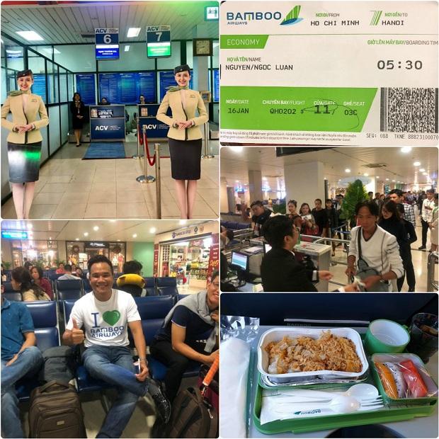 Đặt mua vé máy bay Bamboo Airways để có dịp trải nghiệm những dịch vụ tốt nhất từ hãng