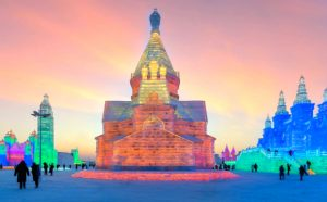 Du lịch Trung Quốc tham gia lễ hội băng đăng lớn nhất thế giới