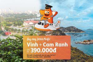 Jetstar Pacific khai thác đường bay kết nối Vinh – Nha Trang