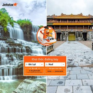 Jetstar thông báo kế hoạch khai thác đường bay Đà Lạt – Huế