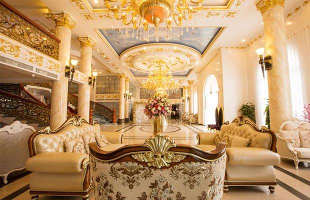 Sảnh khách sạn Cà Mau Ánh Nguyệt