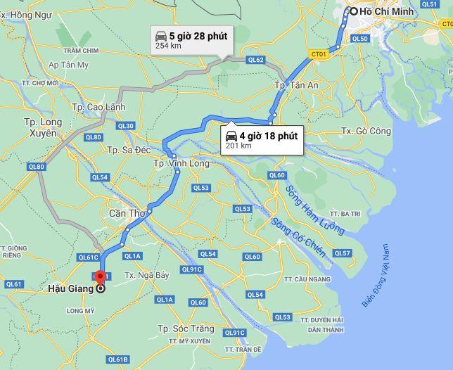 Khách sạn Hậu Giang gần trung tâm