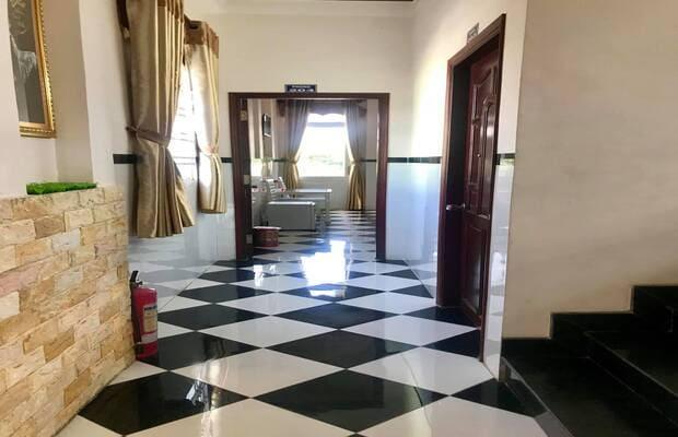 Hành lang khách sạn Hậu Giang Nam Đô