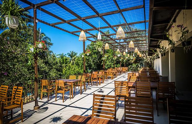 Nhà hàng khách sạn Khánh Hòa Ba Hồ Eco