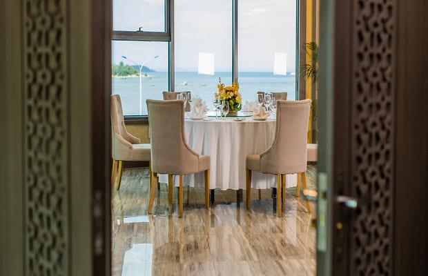 Nhà hàng của khách sạn Khánh Hòa Mường Thanh Luxury