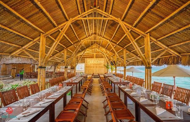 Nhà hàng của Pax Ana Doc Let Resort & Spa - khách sạn Khánh Hòa