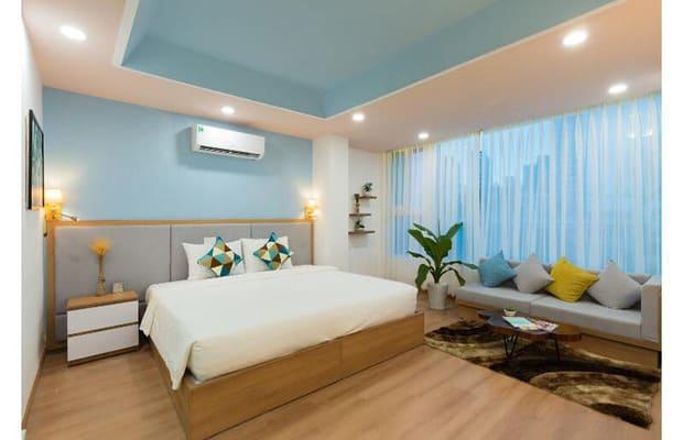 Phòng ngủ khách sạn Khánh Hòa Xala Boutique Nha Trang
