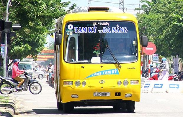 Đặt vé máy bay đi Đà Nẵng bạn cũng có thể đến Tam Kỳ bằng xe buýt