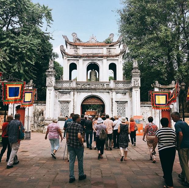 Văn Miếu - Quốc Tử Giám là điểm đến hấp dẫn dành cho khách du lịch Hà Nội