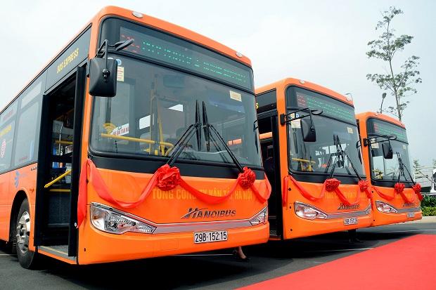 Đón xe buýt 86 tứ sân bay Nội Bài đi Ga Hà Nội