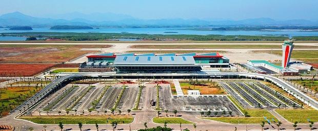 Vé máy bay đi Quảng Ninh đưa bạn đến sân bay Vân Đồn