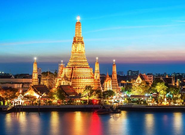 Đặt vé máy bay Hà Nội đi Thái Lan để chiêm ngưỡng những ngôi chùa rực rỡ, uy nghi