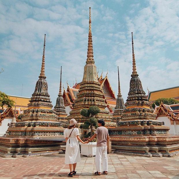 Mua vé máy bay đi Thái Lan cùng đến thăm Wat Pho