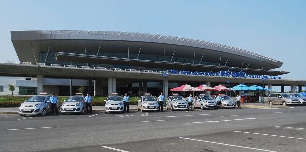 Taxi là phương tiện dễ tìm thấy nhất tại sân bay Phú Quốc