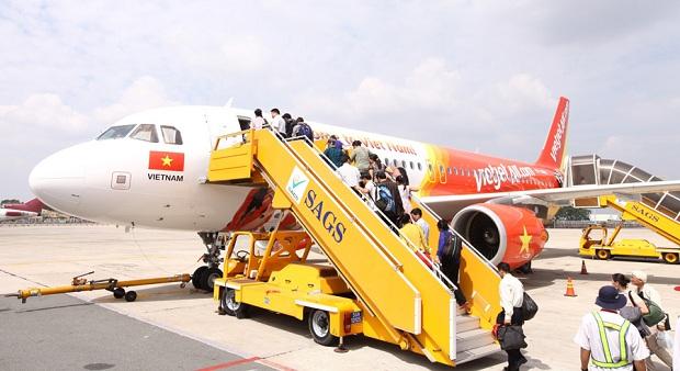 Đặt vé máy bay Tết Vietjet Air trở về nhà đón Tết