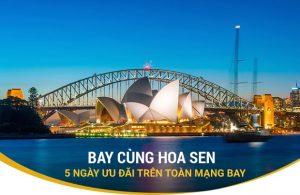 Vietnam Airlines siêu khuyến mãi bay quốc tế chỉ từ 112 USD