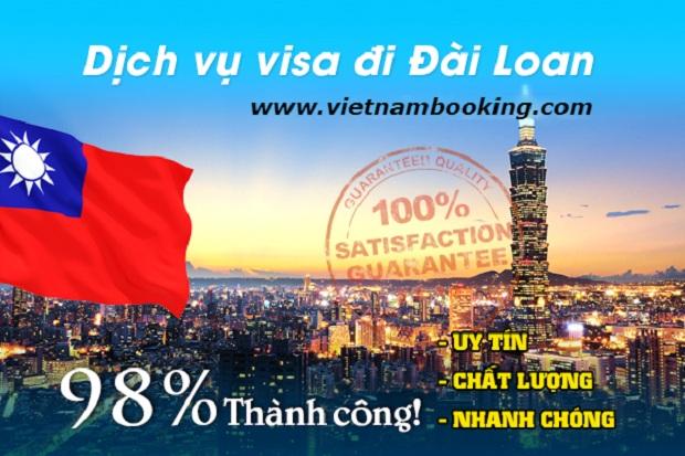 Xin visa Đài Loan tốn khoảng bao nhiêu tiền