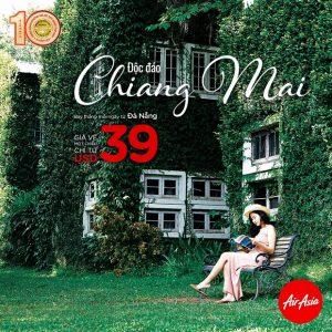 AirAsia – Bay thẳng từ Đà Nẵng đến Chiang Mai với giá từ 39 USD