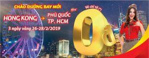 Mừng đường bay mới – Vietjet Air tung 10,000 vé khuyến mãi 0 đồng