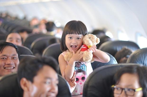 Đặt vé máy bay Vietjet cho trẻ em cần chú ý những điều gì?