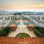 Tour du lịch Trung Quốc 5 ngày 4 đêm – Khám phá Tương Dương | Võ Đang Sơn | Vũ Hán