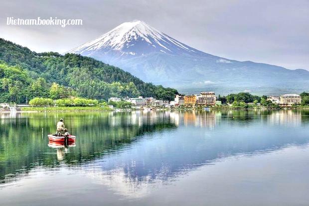 Tour du lịch Nhật Bản 5N4Đ | Hành trình chinh phục núi Phú Sĩ – bức tường tuyết Tateyama – Tokyo – làng cổ Shirakawa