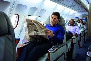 Vé máy bay đi Mỹ hạng thương gia bao nhiêu tiền?