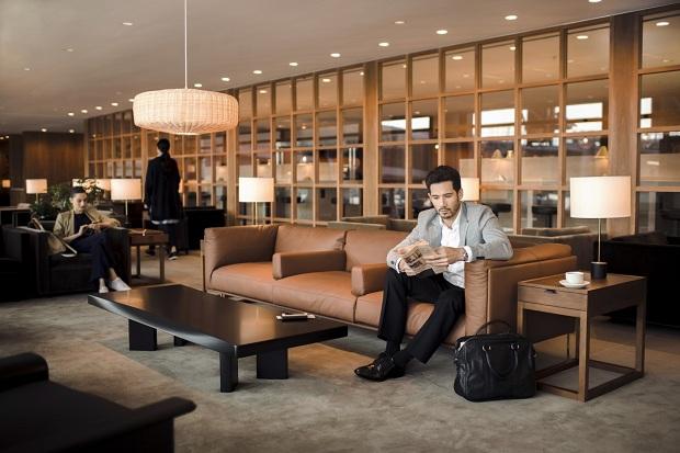 Phòng chờ VIP dành cho hành khách đặt mua vé máy bay đi Mỹ hạng thương gia