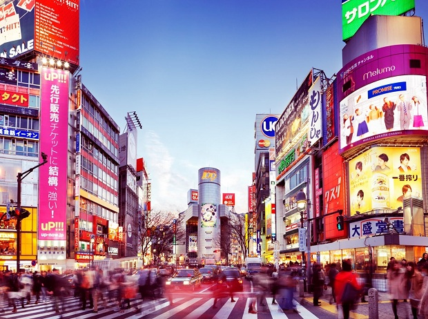 Vé máy bay khứ hồi đi Nhật Bản tham quan Tokyo