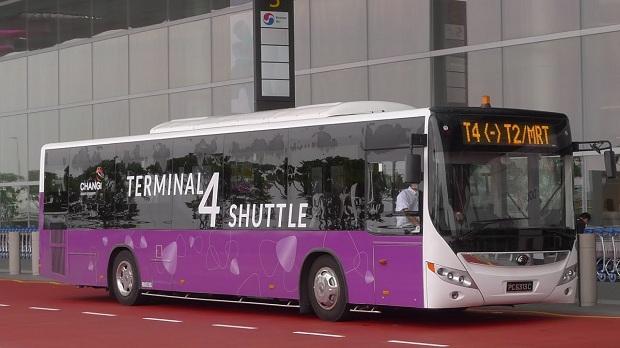 Dịch vụ đưa đón miễn phí giữa nhà ga T2 và T4 sân bay Changi | Vé máy bay TPHCM đi Singapore
