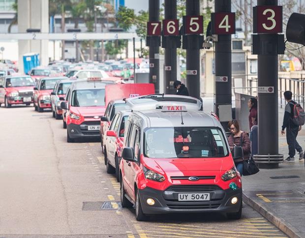 Taxi tại sân bay quốc tế Hong Kong