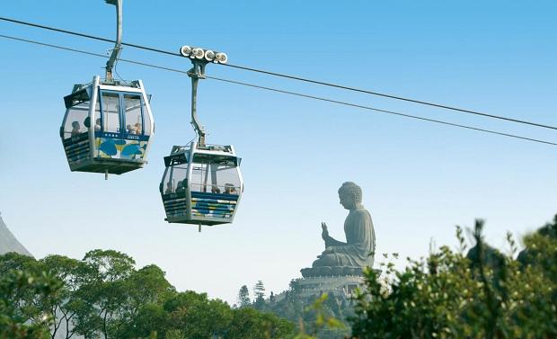 Đặt vé máy bay Phú Quốc đi Hong Kong đừng bỏ lỡ trải nghiệm cáp treo Ngong Ping