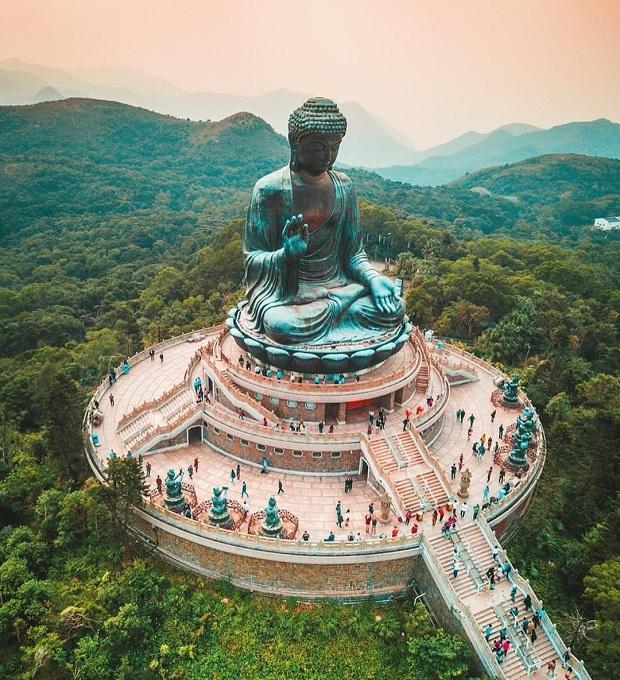 Vé máy bay Phú Quốc Hong Kong giúp bạn có cơ hội tham quan Đại Nhĩ Sơn
