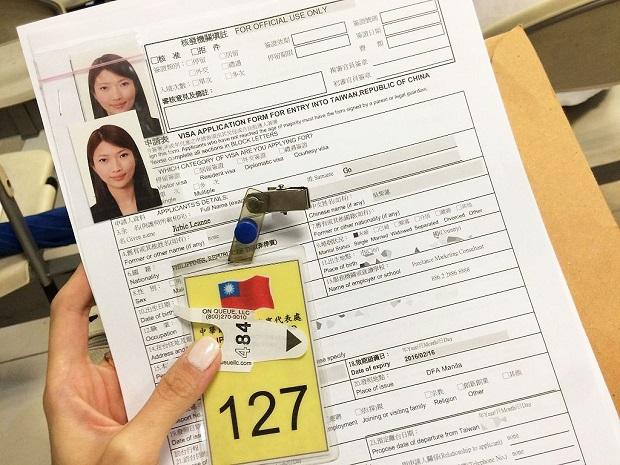 Cách xin visa Đài Loan 10 năm