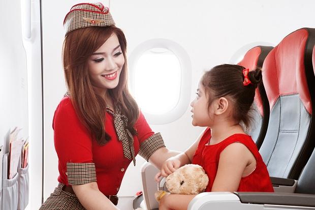 Giá vé máy bay Vietjet dành cho trẻ em