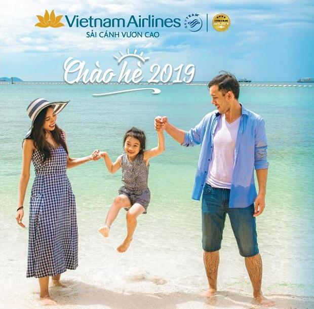 Vé máy bay Vietnam Airlines khuyến mãi mùa hè 2019