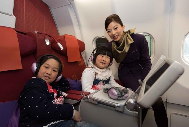 Hãng hàng không Hong Kong Airlines mang đến những dịch vụ tốt nhất