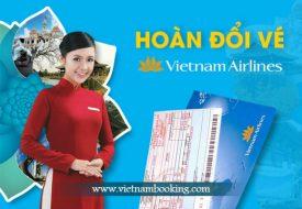 Đổi vé máy bay Vietnam Airlines