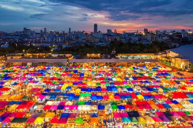"""Chợ sỉ - Một trong những """"đặc sản"""" của Bangkok"""