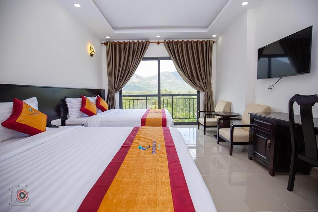 Phòng ngủ khách sạn ConSon Bluesea - khách sạn Côn Đảo
