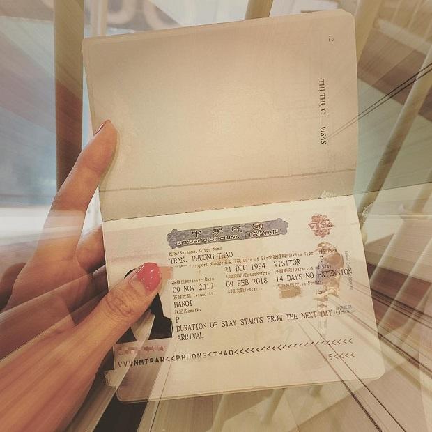 Phí dịch vụ visa Đài Loan