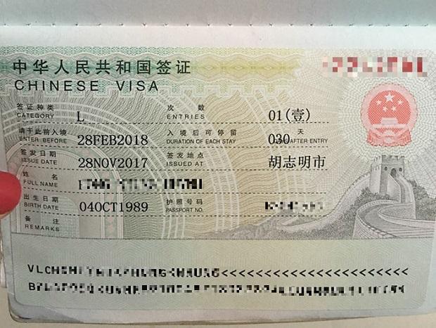 Thời gian xin visa Trung Quốc mất bao lâu